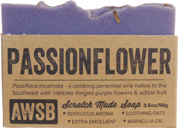 Passionflower Organic Soap Bar