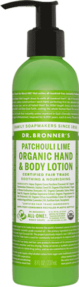 Patchouli And Lime Body Lotion