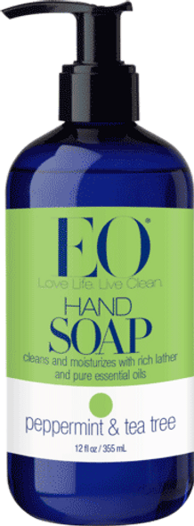 Peppermint & Tea Tree Liquid Hand Soap