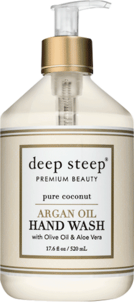 Deep Steep Pure Coconut Argan Oil Liquid Hand Wash