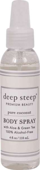 Deep Steep Pure Coconut Body Spray