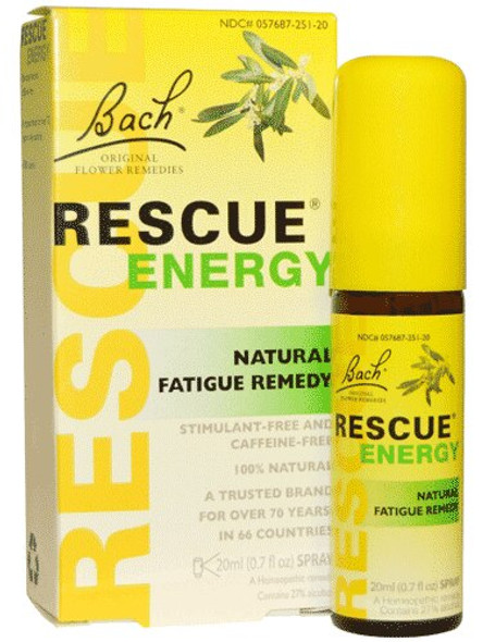 Rescue Energy - Spray - 20 Ml