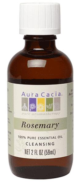 Aura Cacia Rosemary Essential Oil 2 Fl. Oz.