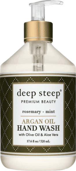 Rosemary Mint Argan Oil Liquid Hand Wash