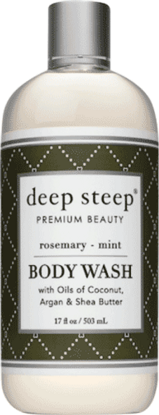 Deep Steep Rosemary Mint Body Wash