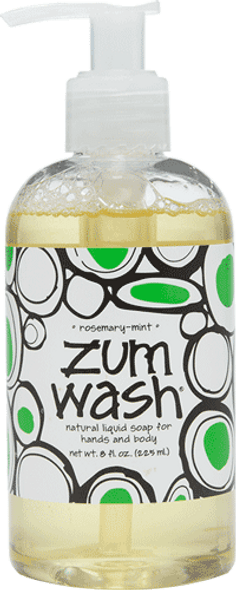 Rosemary Mint Zum Wash Liquid Soap