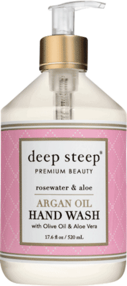 Rosewater Aloe Argan Oil Liquid Hand Wash