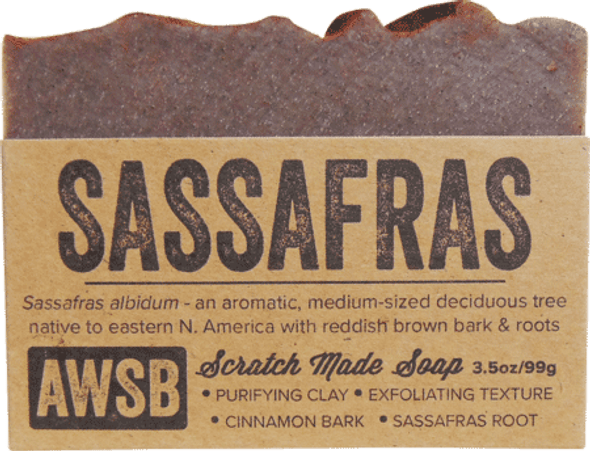 A Wild Soap Bar Sassafras Organic Soap Bar
