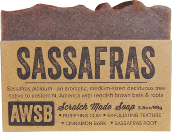Sassafras Organic Soap Bar