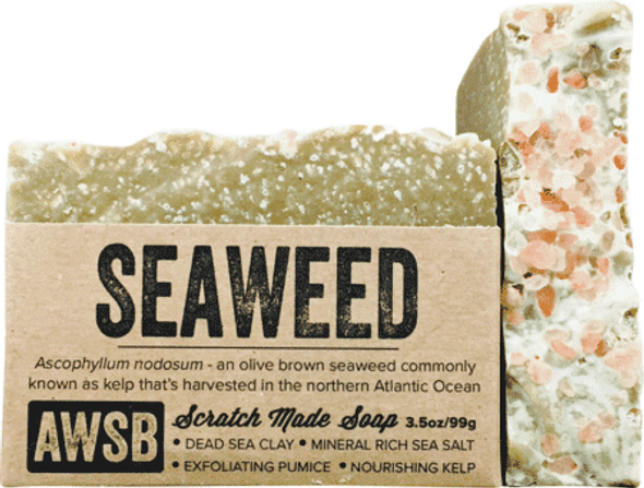 A Wild Soap Bar Seaweed Organic Soap Bar
