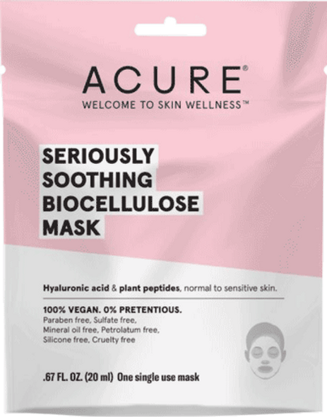 Seriously Soothing Biocellulose Gel Mask