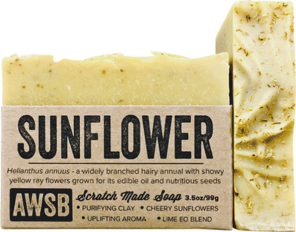 Sunflower Organic Soap Bar