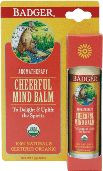 Sweet Orange For Cheerful Mind Body Balm