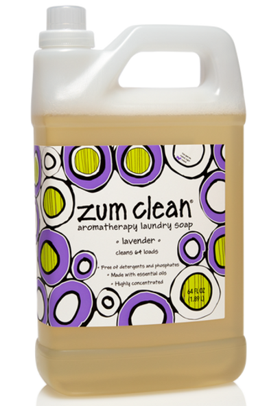 Zum Clean Laundry Soap - Lavender - 64 oz.