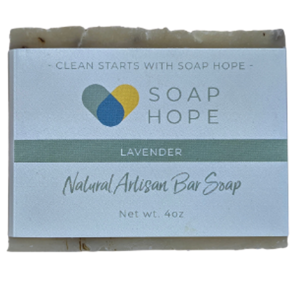 Natural Artisan Soap Bar - Lavender