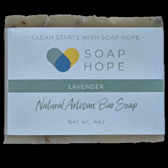 Natural Artisan Soap Bar - Lavender