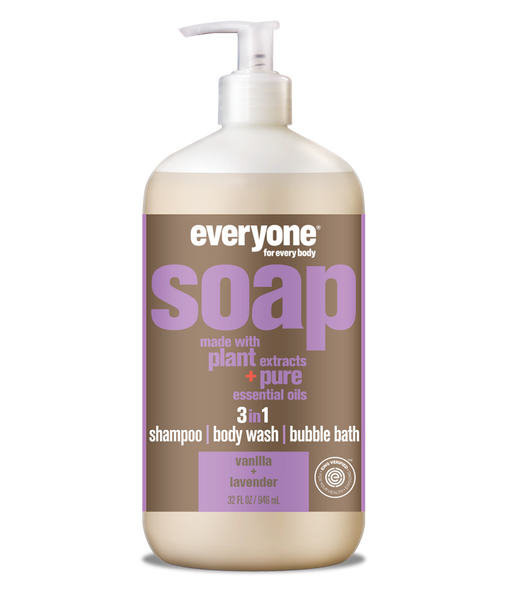 Everyone Vanilla + Lavender Multi-Use Liquid Soap
