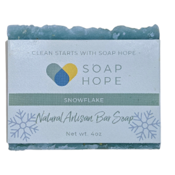 Natural Artisan Soap - Snowflake