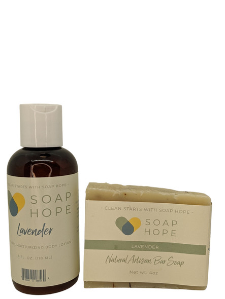 Soap Hope Holiday Gift Duo - Lavender