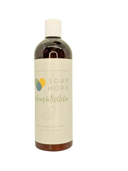 Soap Hope Collection Merry Mistletoe Natural Moisturizing Body Lotion - 16 oz