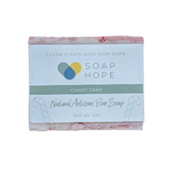 Natural Artisan Soap - Candy Cane