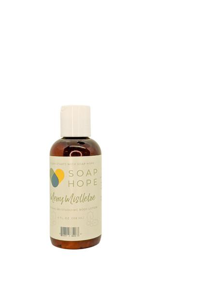 Soap Hope Collection Merry Mistletoe Natural Moisturizing Body Lotion - 4oz