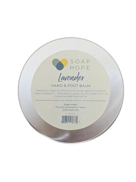 Soap Hope Collection Lavender Non-Greasy Hand & Foot Balm