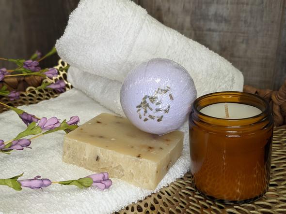 Soap Hope Collection Lavender Luxury Spa Bath Bomb