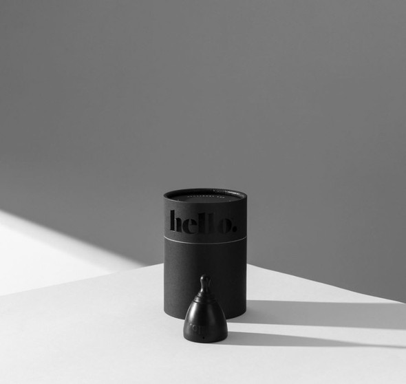 Hello Cup - L (large) Black