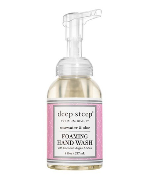 Deep Steep Rosewater Aloe Foaming Hand Wash