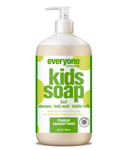 Tropical Coconut Twist 3 in 1 Soap for Kids