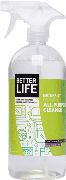 Better Life All Purpose Spray Nursery Cleaner