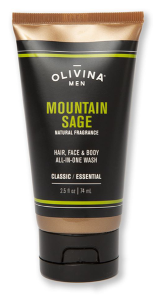 All-In-One Body Wash - Mountain Sage 2.5 fl oz