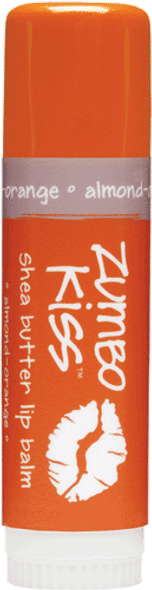 Almond Orange Jumbo Lip Balm