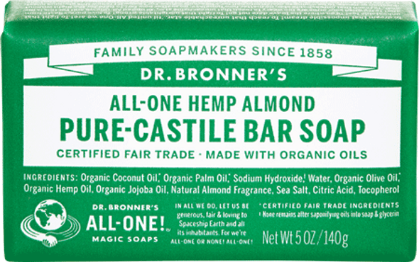 Dr. Bronner's Almond Soap Bar