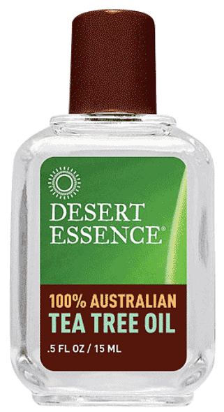 Desert Essence Australian Tea Tree Oil (0.5 Oz)