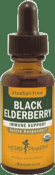 Herb Pharm Black Elderberry Glycerite - 1 Oz.