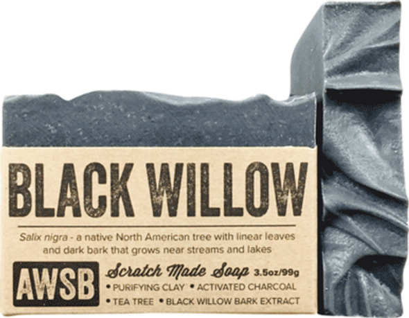 Black Willow Bark Organic Soap Bar