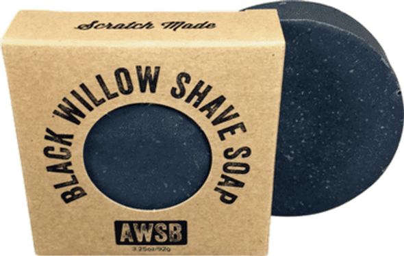 Black Willow Bark Shaving Soap