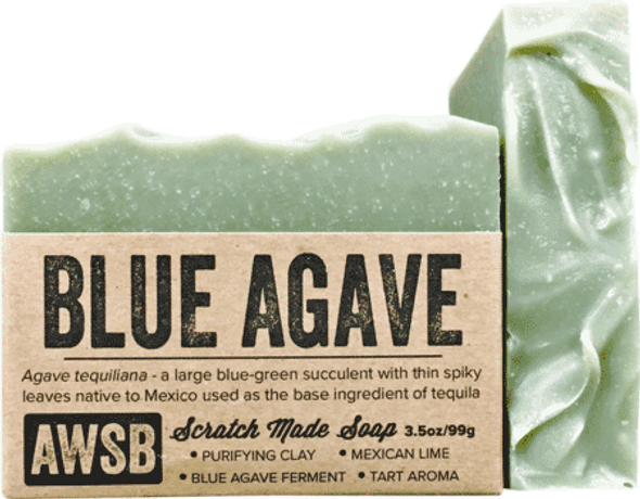 A Wild Soap Bar Blue Agave Bar Soap