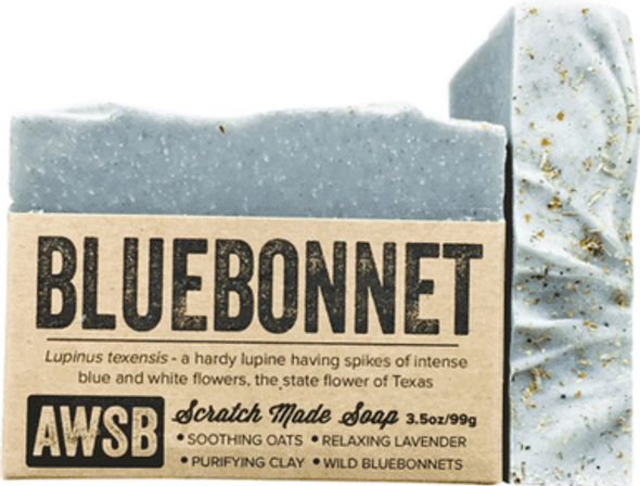 Bluebonnet Organic Soap Bar
