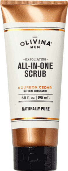 Exfoliating All-In-One Scrub - Bourbon Cedar 6.5 fl oz