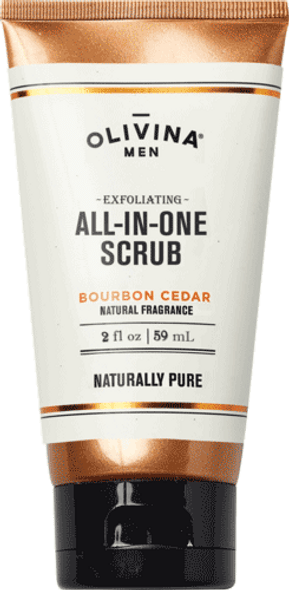 Exfoliating All-In-One Scrub - Bourbon Cedar 2.5 fl oz