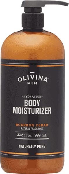 Olivina Men Bourbon And Cedar Body Lotion