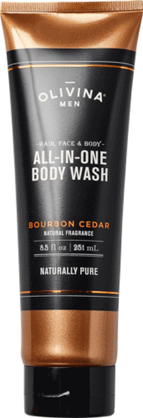 Bourbon Cedar Shower Gel