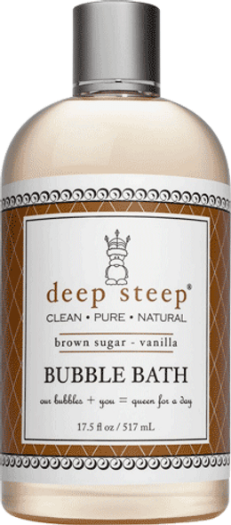 Deep Steep Brown Sugar Vanilla Bubble Bath