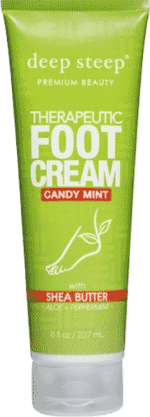 Deep Steep Candy Mint Therapeutic Foot Cream