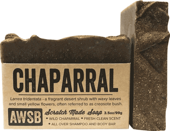 A Wild Soap Bar Chaparral Organic Soap Bar