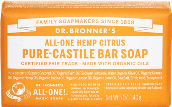 Dr. Bronner's Citrus Soap Bar