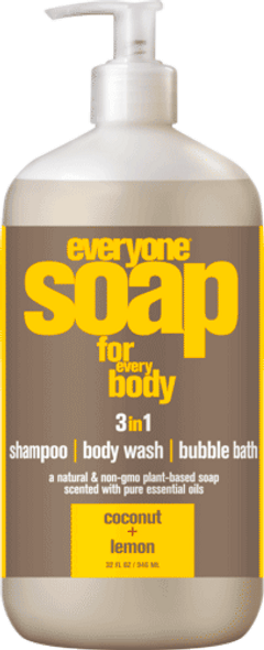 Everyone Coconut And Lemon Multi-Use Liquid Soap